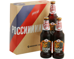 Saveur Bière gift box - Russia World Cup Country Pack - 3 Ivanovskaya Pivarennaya Siberian Tiger Rye Ale