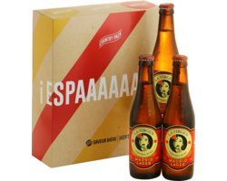 Gift Box - Spagna World Cup Country Pack - 3 La Virgen Madrid Lager