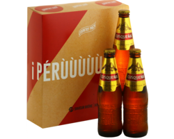 Gift Box - Perù World Cup Country Pack - 3 Cusquena Pils