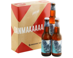 Gift Box - Danimarca  World Cup Country Pack - 3 To Øl Sur Citra Sour Ale