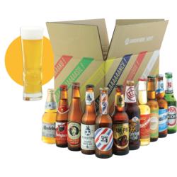 Bouteilles - World Pack - 11 bières et 1 verre