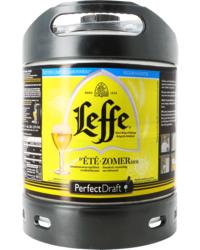 Fûts de bière - Fût 6L Leffe d'Été Zomerbier