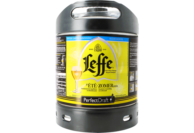 Fässer - Leffe Sommerbier 6L Perfect Draft Fass - Mehrweg