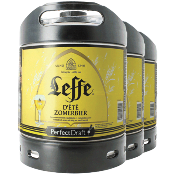 Perfect Draft 3x Leffe Zomerbier 6liter