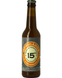 Bottled beer - Oppigårds 15th Anniversary Ale