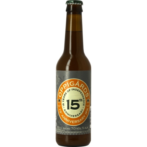 Oppigårds 15th Anniversary Ale