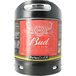 Budweiser Bud PerfectDraft 6-liter Fass