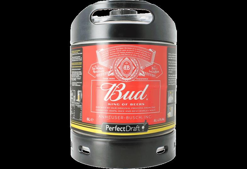 Fatöl - Budweiser Bud 6L PerfectDraft Fat
