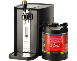 Thuistap - Budweiser PerfectDraft 6L + Machine deal