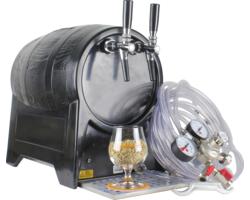 Tireuse à bière professionnelle - spillatore da birra debito 40L/h freddo secco 2 Rubinetti