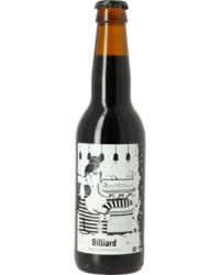 Flaschen Bier - Frontaal Billiard