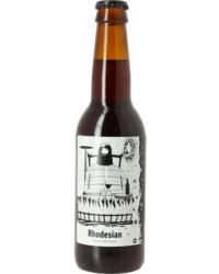 Flaschen Bier - Frontaal Rhodesian