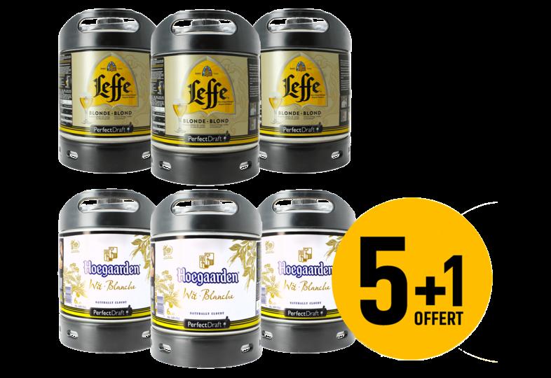 Fusti di birra - Fusto Hoegaarden e Leffe Blonde PerfectDraft 6L - 5+1 GRATUITO!