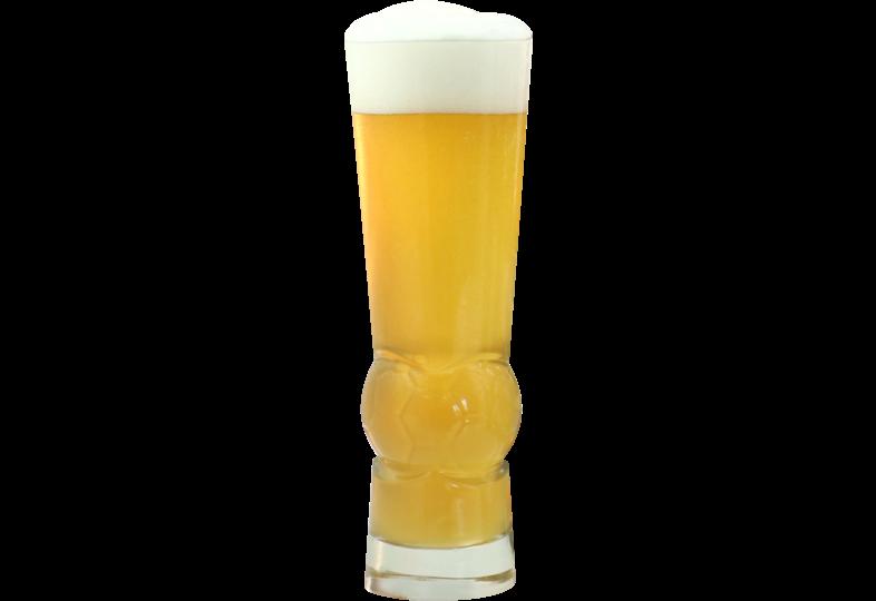Verres à bière - Verre ballon de football - 30 cl