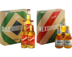 HOPT biergeschenken - Amérique du Sud - 6 bières