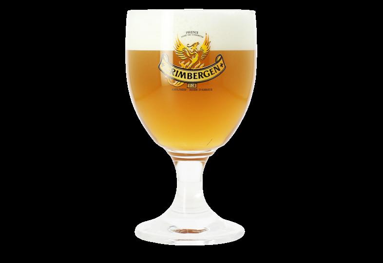 Beer glasses - Grimbergen 33cl glass