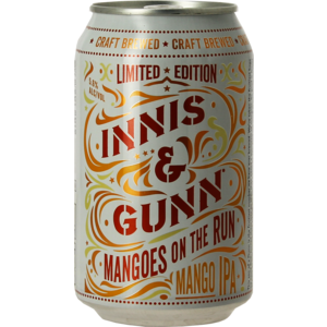 Innis and Gunn Mangoes on the Run blik