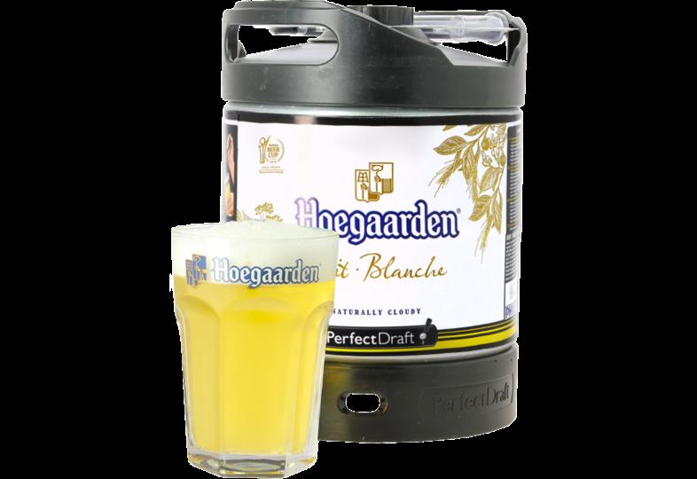 Tapvaten - Hoegaarden PerfectDraft 6-liter Tapvaatje + Hoegaarden glas 33cl