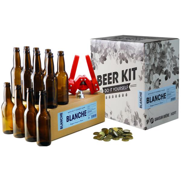 Beer Kit complet blanche + recharge