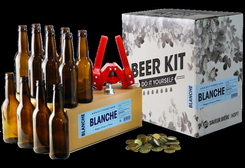 Brouwpakketten om bier te brouwen - Brouwpakket, Beerkit Witbier (XL)