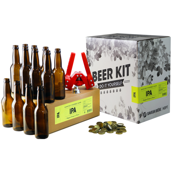 Beer Kit complet IPA + recharge
