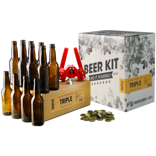 Beer Kit complet triple + recharge