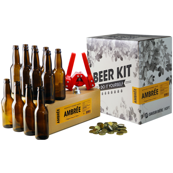 Beer Kit complet ambrée + recharge