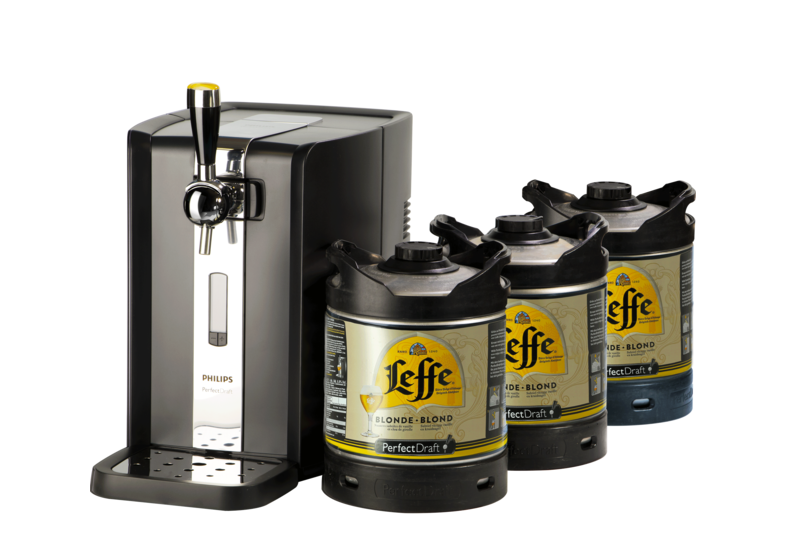 Kegs - Party Pack PerfectDraft - BeerPump + 3 Leffe Kegs