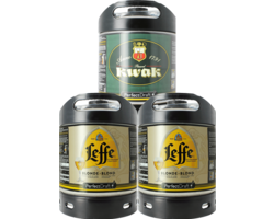 Fatöl - Leffe Blond & Kwak PerfectDraft Fat 3-Pack