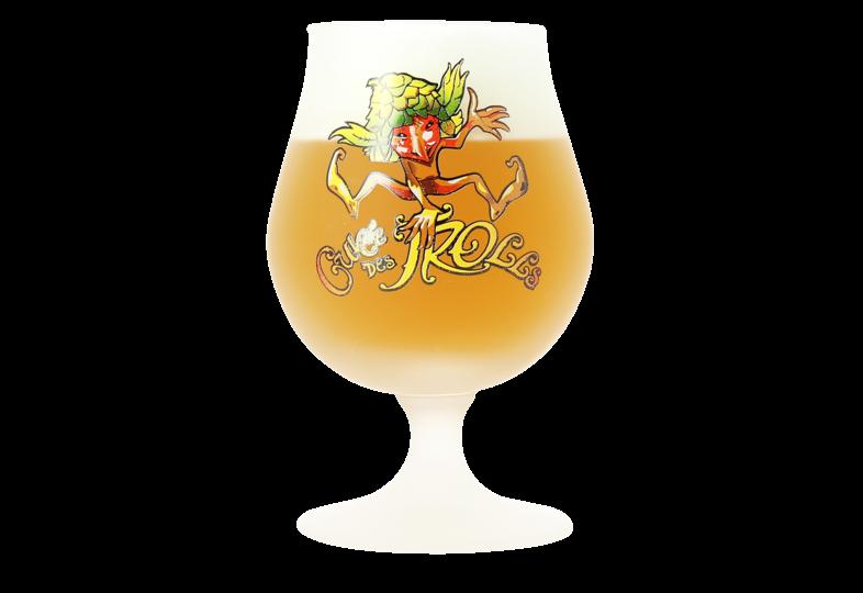 Beer glasses - Cuvée des Trolls 25 cl glass