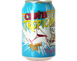Flessen - Tiny Rebel Clwb Tropicana blik