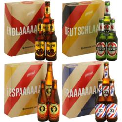 Coffrets Saveur Bière - Occident - 12 bières