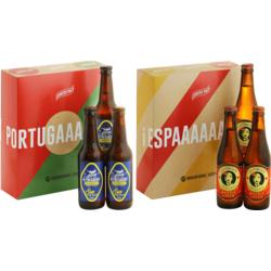 Coffrets Saveur Bière - Europe du sud - 6 bières