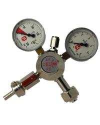 Accessoires du brasseur - Détendeur CO2 1 sortie avec 2 manomètres