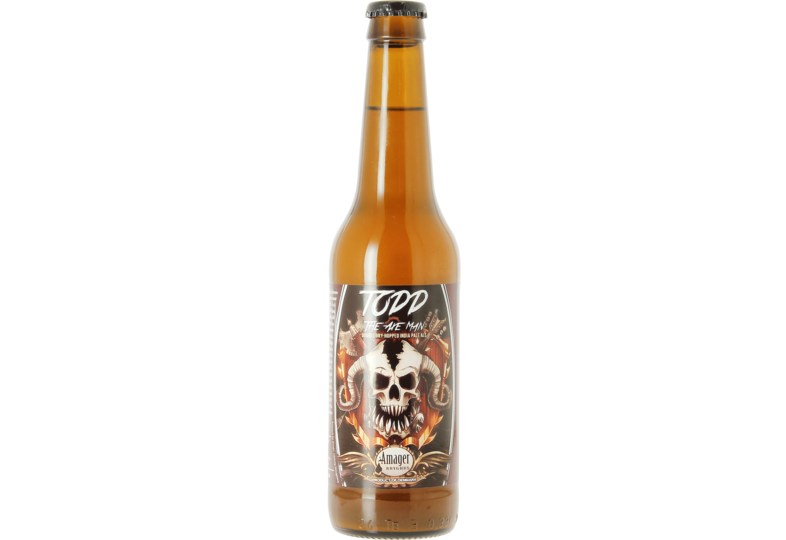 Bottled beer - Amager Todd - The Axe Man