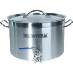 Accessoires du brasseur - Cuve de brassage inox Brewferm 20L avec robinet à boisseau sphérique 3 étages