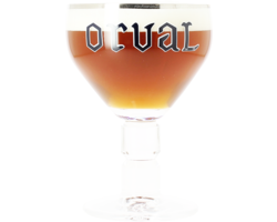 Beer glasses - Orval 33cl glass