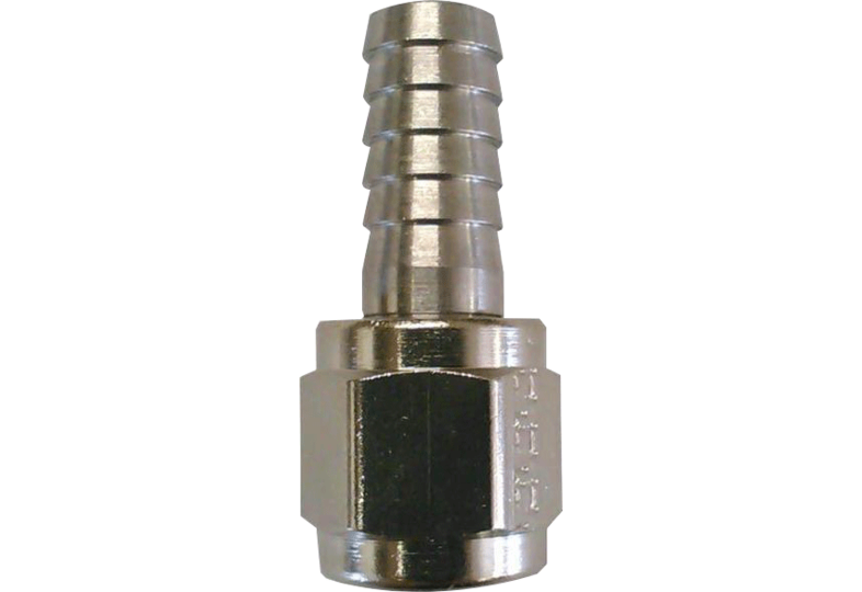 "Brewing Accessories - 1/4"" Barbed Swivel Nut"
