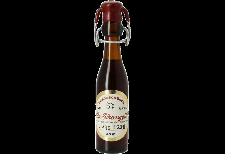 Bottled beer - SchorschBrau Schorschbock 57%
