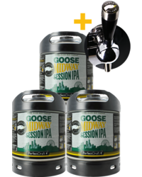 Fässer - Goose Midway Session IPA PerfectDraft 6-litre Fass - 3-Pack