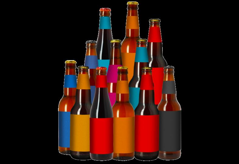 assortiments - Anti-Gaspi : l'Assortiment 12 bouteilles Sauveur Bière