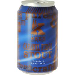 Bottled beer - Kees Caramel Fudge Stout - Woodford Barrel Aged - Can