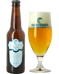 Bottled beer - Cromarty White out + Verre Cromarty