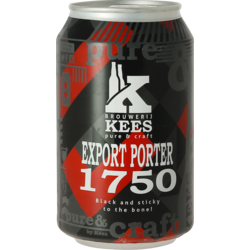 Bottled beer - Kees Export Porter 1750 - Can