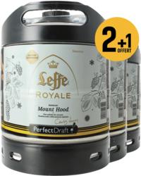 Fässer - Pack 3 fûts 6L Leffe Royale Mount Hood