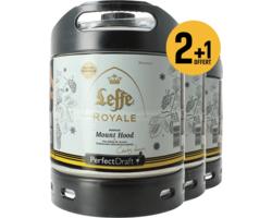 Fûts de bière - Pack 3 fûts 6L Leffe Royale Mount Hood