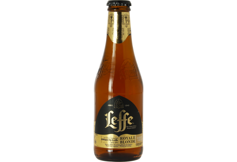 Bottled beer - Leffe Royale Blonde