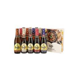 Cadeaus en accessoires - Leffe Bierpakket met Kookboek