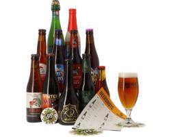 Cadeaus en accessoires - Kerst Speciaalbier pack - 11x33cl + 1 glas