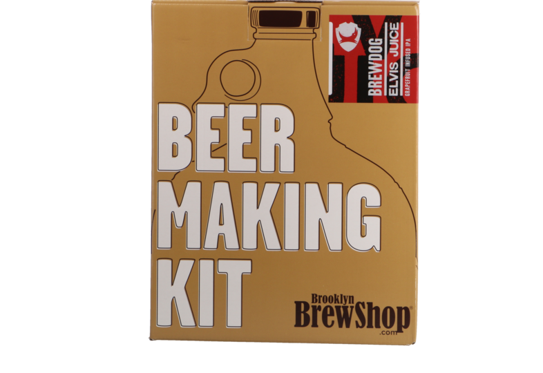 Moutpakket - Brooklyn Brew Kit Brewdog Elvis Juice